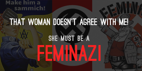 """So, that's how a losing side would define """"feminism""""."""