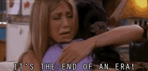 Everyone's reaction on watching the last episode of FRIENDS!