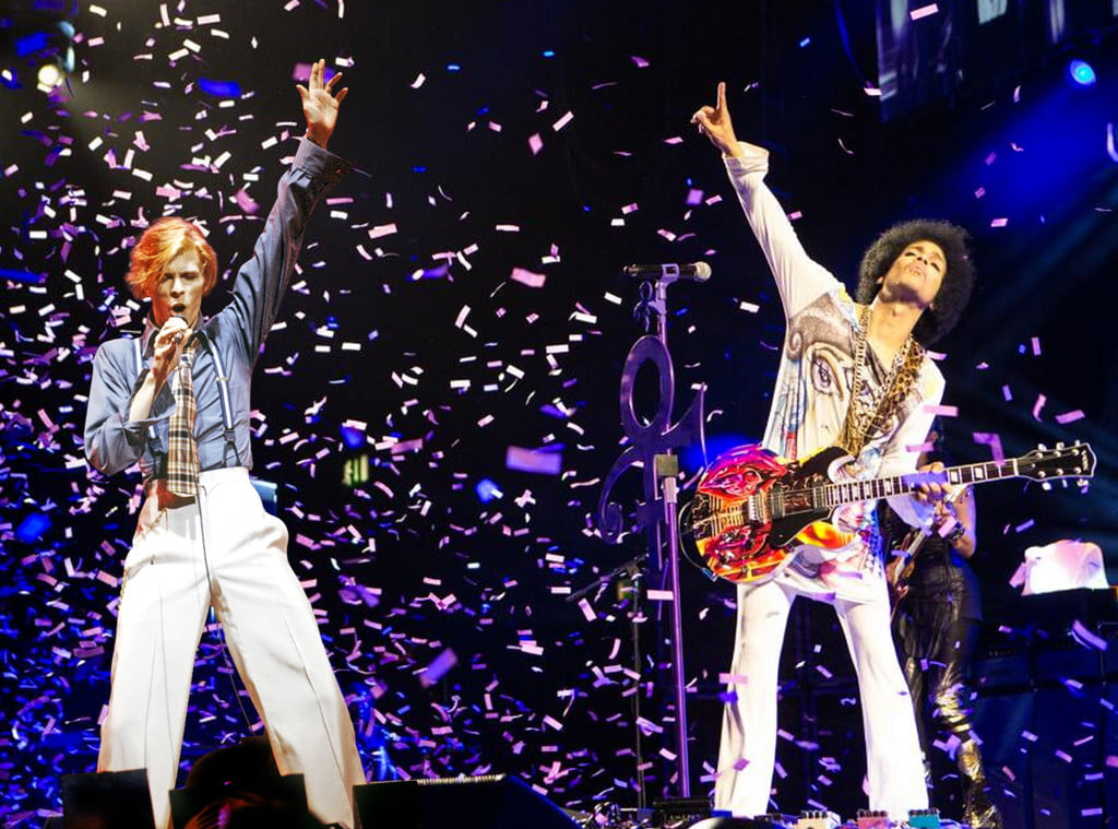 Bowie and Prince, a tragic story