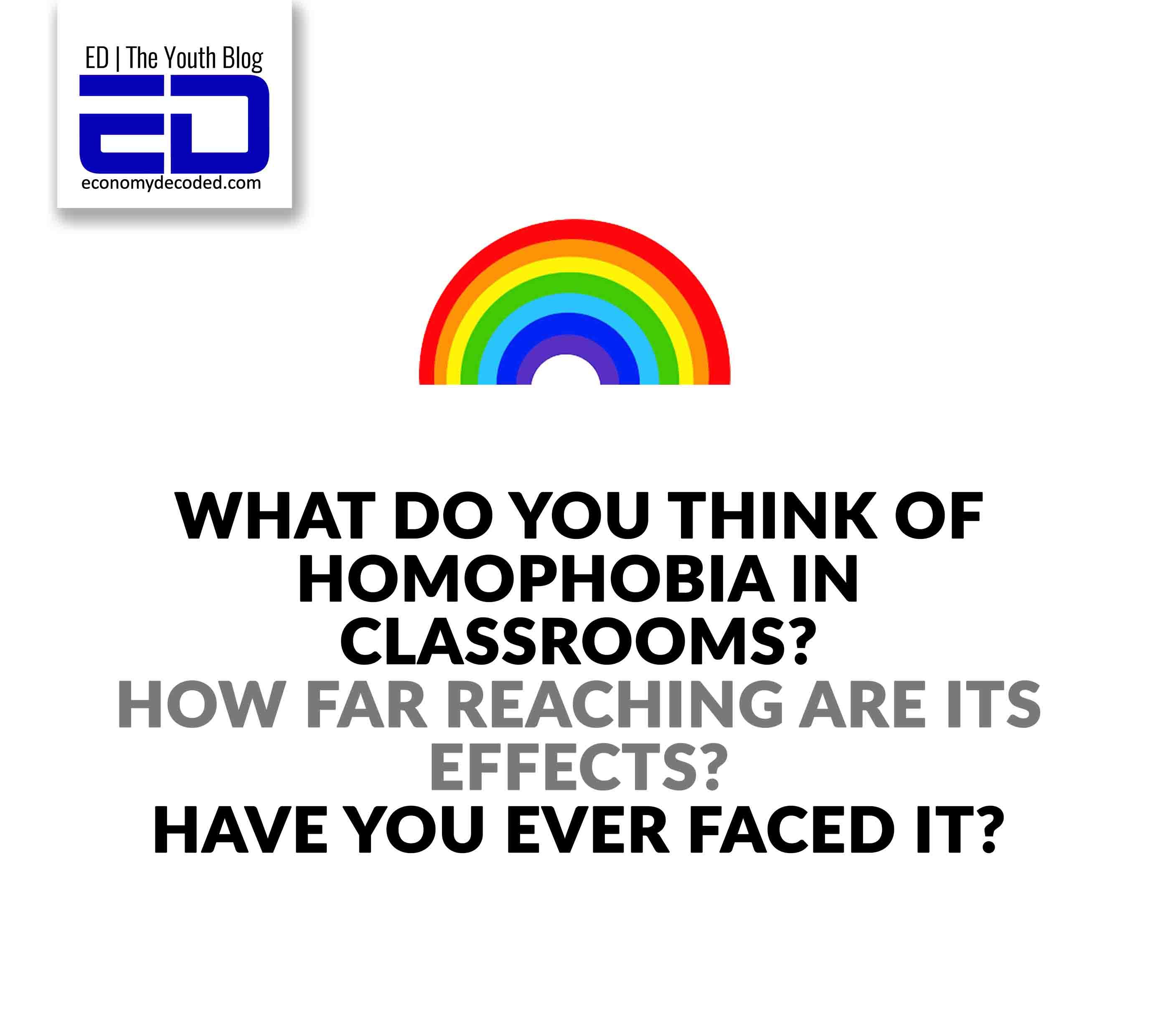 homophobia in classroom