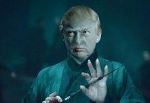 Trump Super Villain Voldemort