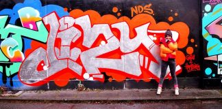 Graffiti artist, India