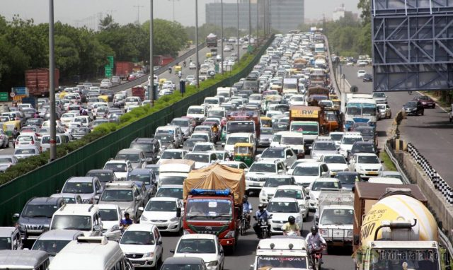 delhi traffic problem