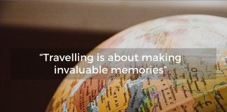 Travelling before work is all about making lifelong memories.