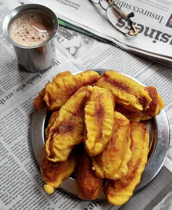 Pazhampori and chai - perfect companions