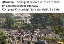 dalit protest mumbai
