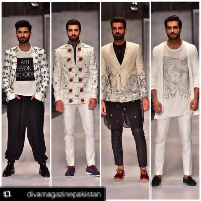Pakistani Fashion Designers Showcase Hindu Gods In Their Attires Breaking Religious Conventions