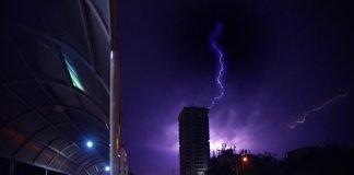 thunderstorm alert in Delhi