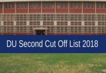 DU 2nd Cut-Off