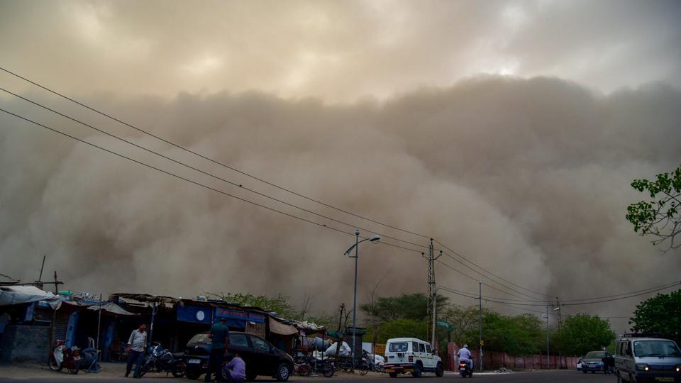 Is North India Facing Interstellar Type Situation With The Dust Storms