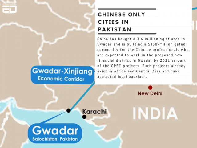 Chinese Only Cities Pakistan