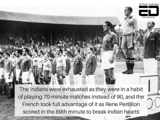 India almost beat France