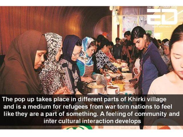 refugee pop up restaurants