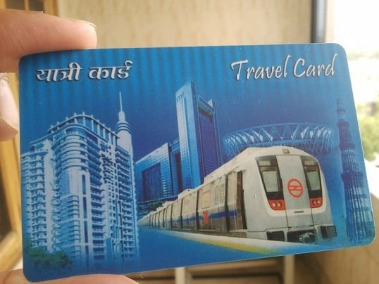 metro card to pay for bus rides