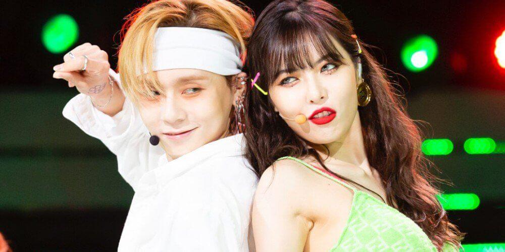 Edawn hyuna pentagon Jessi Reveals
