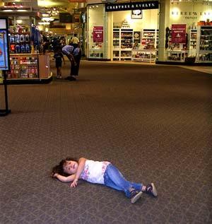 kids in public places