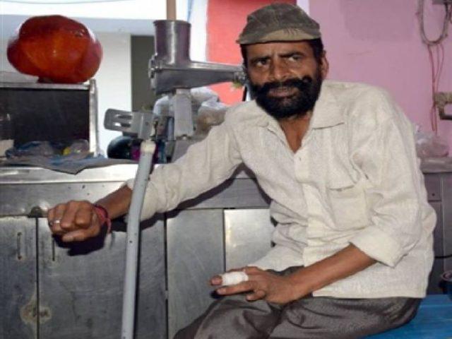 satbir singh juice stall