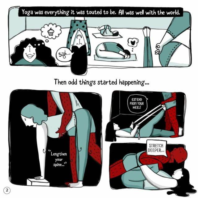 Sexual harassment through yoga