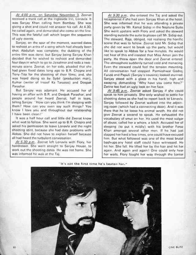 Sanjay Khan's case of sexual abuse