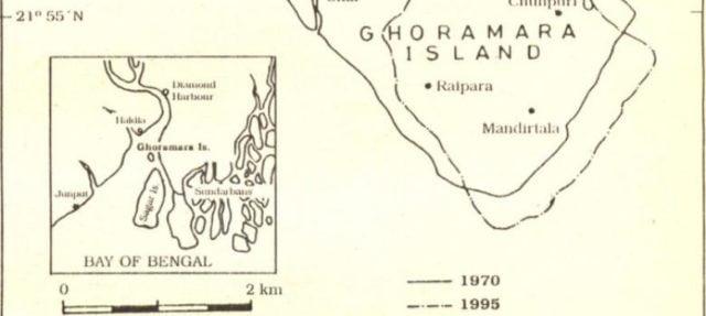 Vanishing lands of Sundarbans