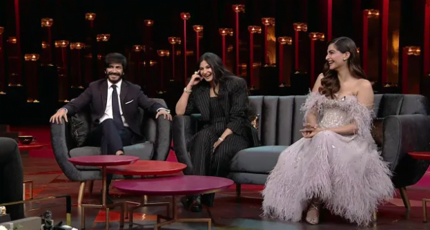 Koffee With Karan Sonam Kapoor & siblings