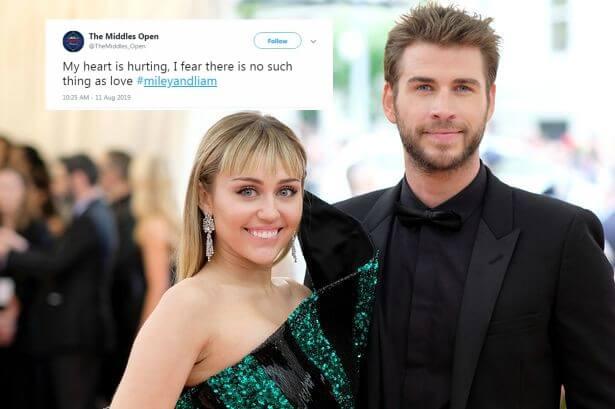 Liam Hemsworth Miley Cyrus Breakup
