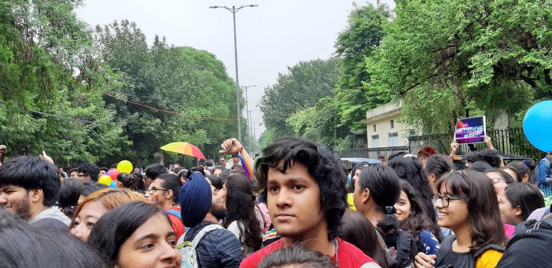 A frontal view of Hansraj Pride