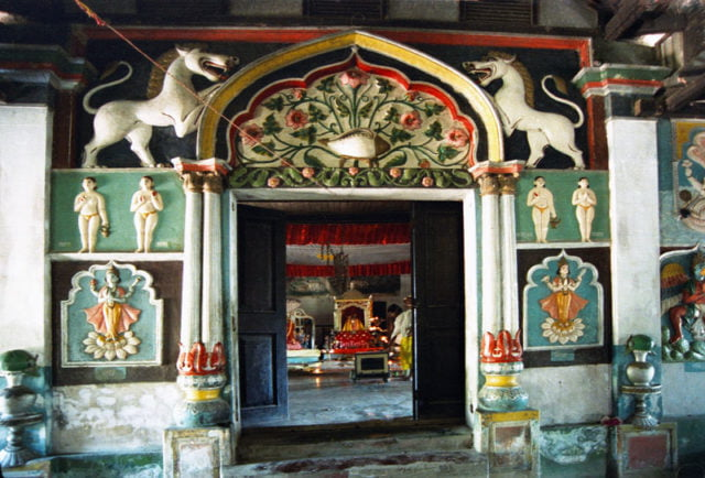 Satra - An institution set up by the spiritual leader of the Assamese community
