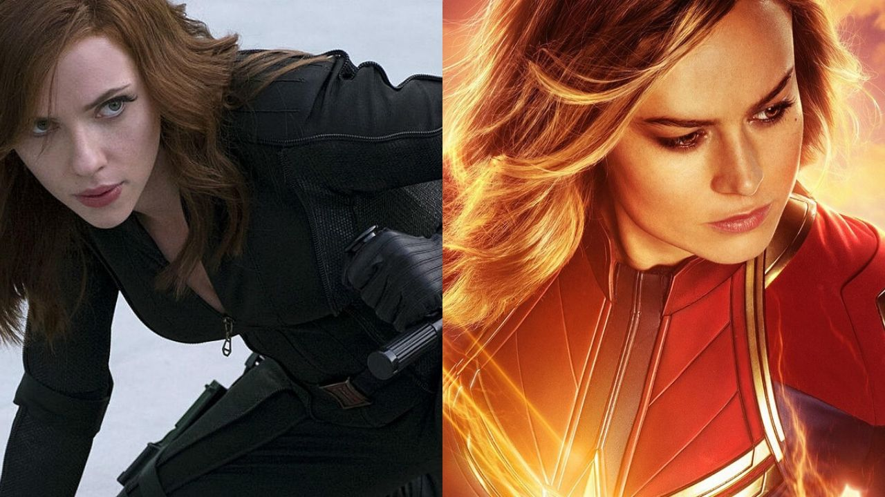 People Are Pitting Black Widow Against Captain Marvel To Justify Their Hatred Towards Brie Larson