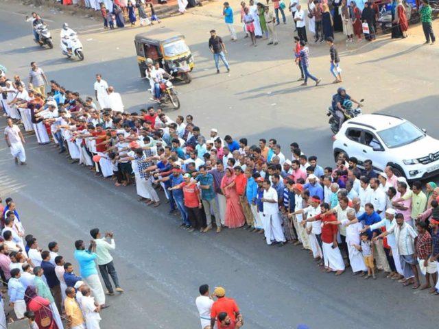 kerala human chain