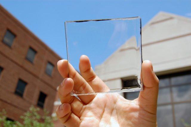 transparent solar cells