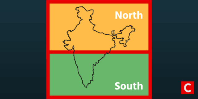 north indians are brash south indians are intellectuals