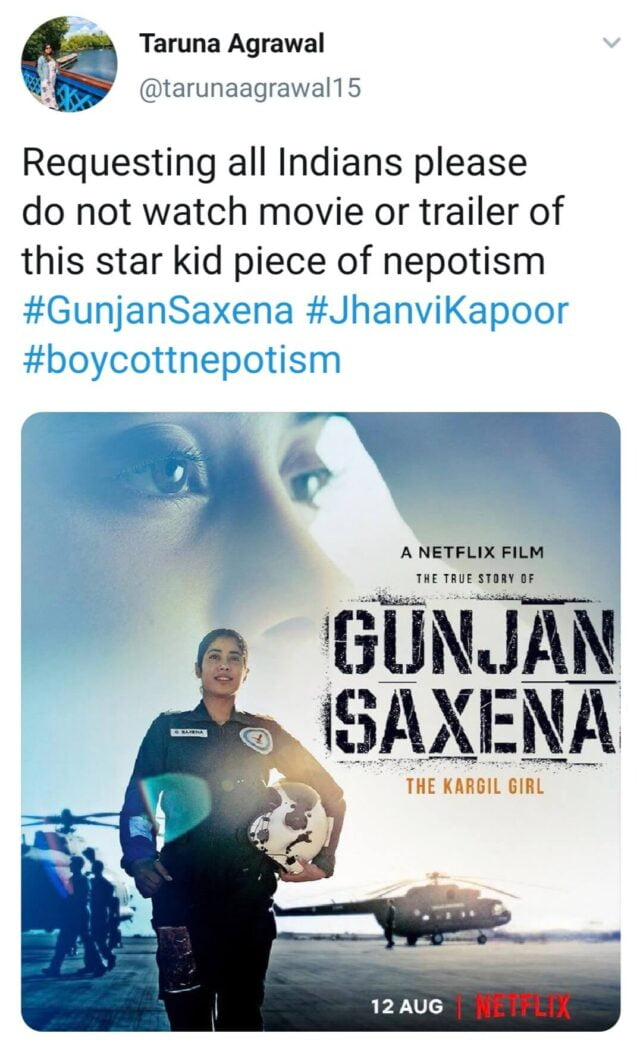 Why Making Boycott Thekargilgirl Trend On Twitter Is Not Enough To Kill Nepotism In Bollywood