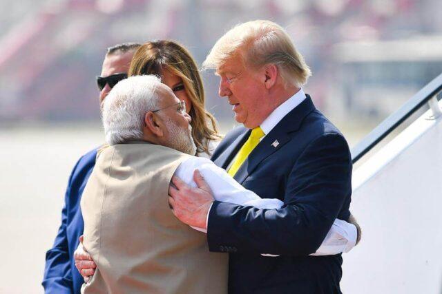 PM Narendra Modi and President Donald Trump