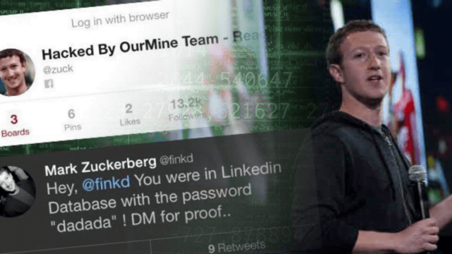 Mark Zuckerberg's password was leaked in a LinkedIn data breach
