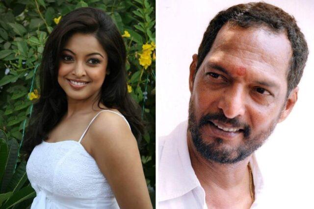 Tanushree Dutta and Nana Patekar