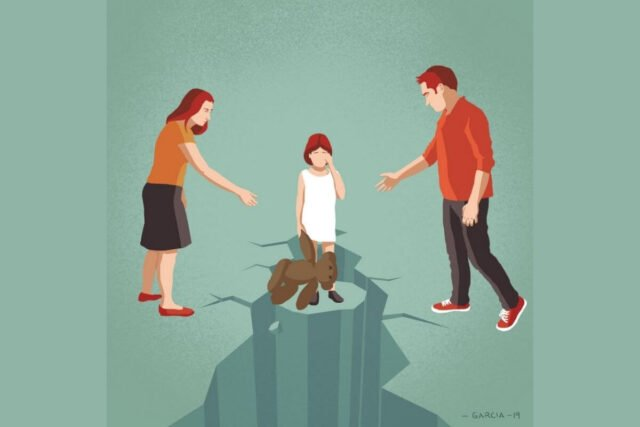 Toxic Relationship Between Parents Can Hamper A Child's Well Being