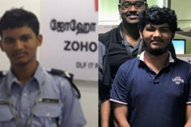 Senior Employee At Zoho Spotted Alim While He Was Working At The Security Desk
