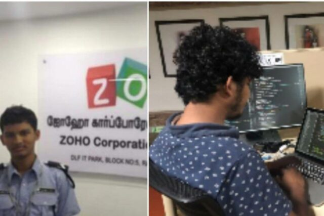 Abdul Alim Shared His Story On LinkedIn To Commemorate His 8 Years With Zoho Corporation