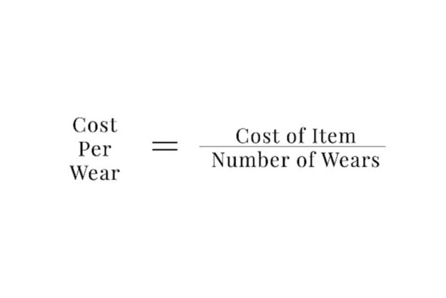 Capsule Wardrobe Reduces Our Cost Per Wear Or CPW