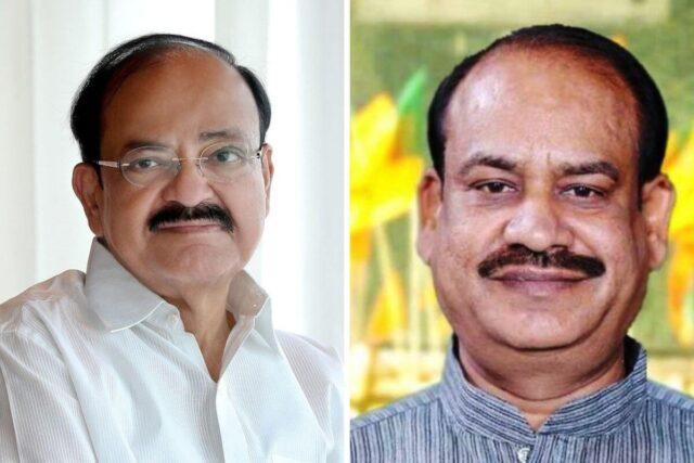 The Joint Decision Is Taken By The Chairman Of The Rajya Sabha, Venkaiah Naidu, And Speaker of Lok Sabha, Om Birla