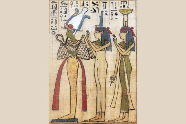 Hilaria Was Inspired By The Egyptian Legend Of Isis, Osiris, and Seth