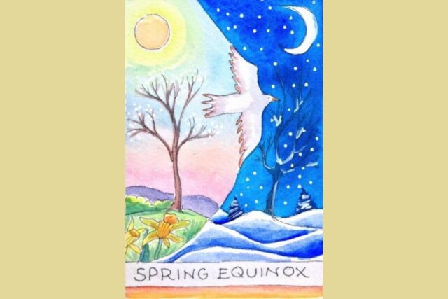 Vernal Equinox Or The First Day Of Spring