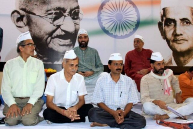 Commemorating 10 years India Against Corruption Movement