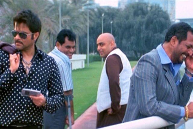 Majnu Bhai With His Entourage