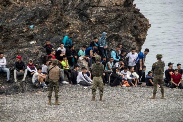 Migrants Spain morocco