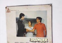 vintage Bollywood movie posters