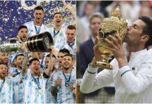 Novak Djokovic Lionel Messi