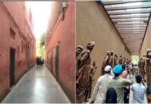 Jallianwala Bagh before and after