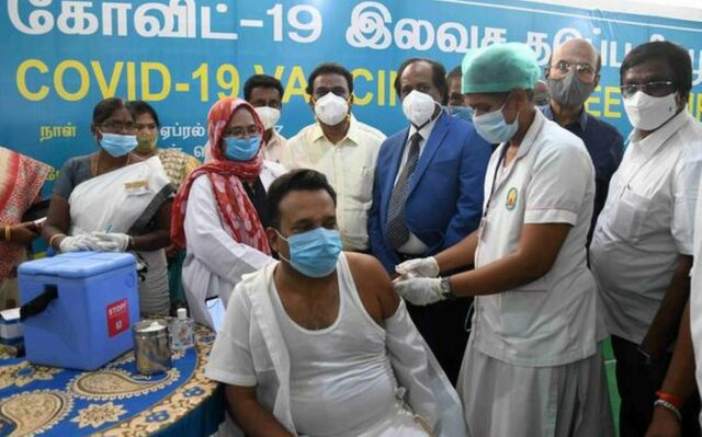 Covid-19 vaccination camp